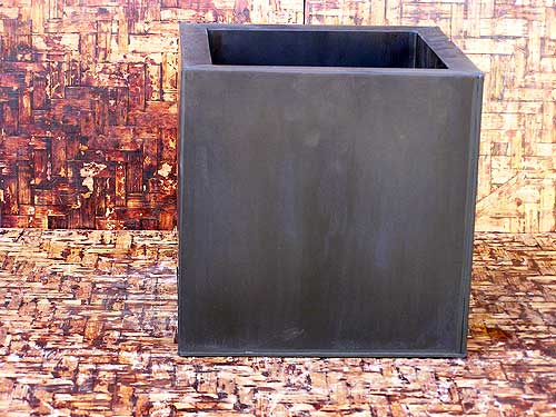 Antra Zinc Cubicle Planter Aw Pottery