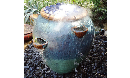 Transforming A Strawberry Pot Into The Coolest Water Feature- Master Piece By Phil Bashaw