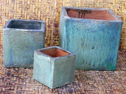 Cubicle Planters Aw Pottery