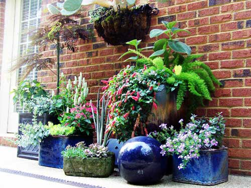 Container Gardening By-Rick Lee