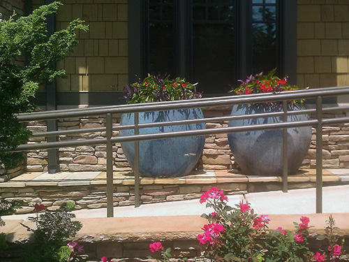 Container gardening adds colors and shapes to your backyard.
