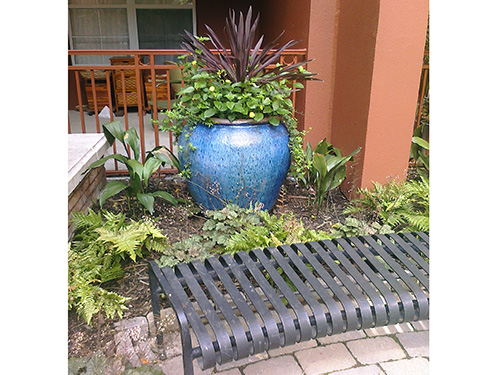 Container gardening by Kevin Hostetler